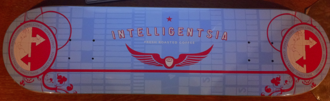 Intelligentsia Affiliate Skateboard