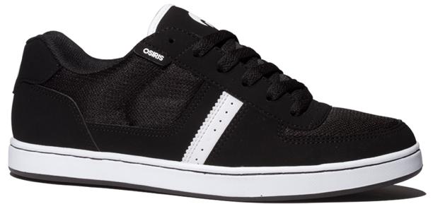 Vegan Skateboard shoe from Osiris in Black White