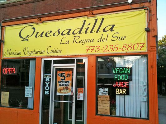Vegan Friendly Quesadilla