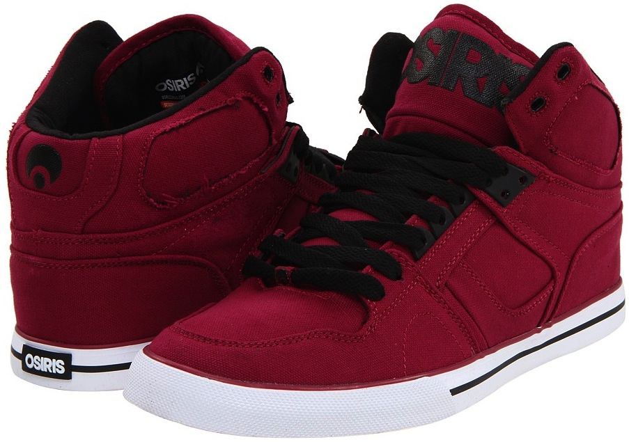 Vegan Canvas Osiris Skateboard Shoes