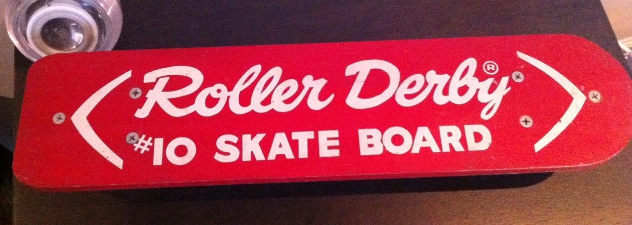 Roller Derby Skate Board #10