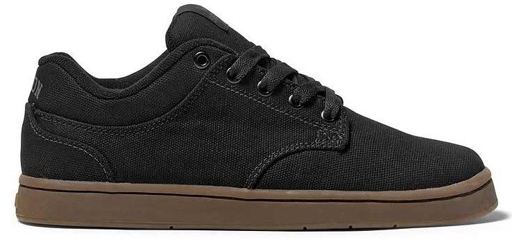 Vegan Black Canvas Skateboard Shoes from Supra