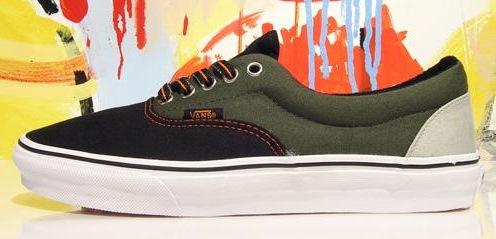 Vegan Vans Era Tri Tone Skateboard shoe