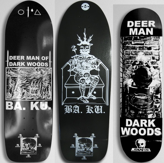 Barrier Kult Skull Skate Decks