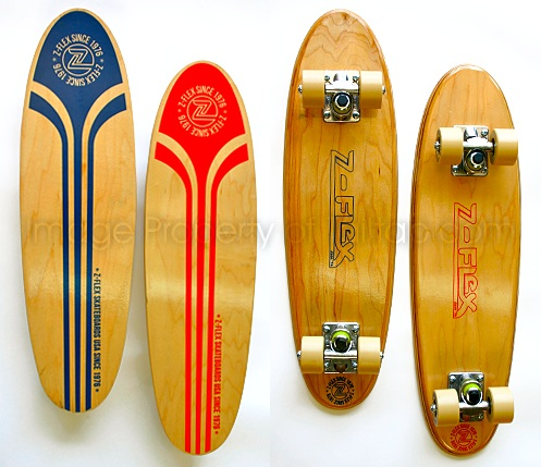 Z Flex Skateboard Old School