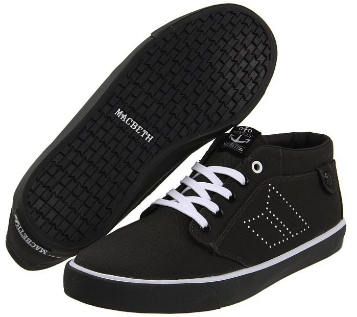 Vegan Macbeth Skateboard shoes