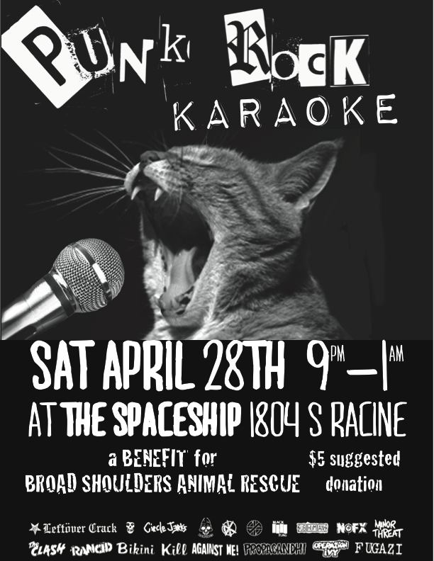 Broad Shoulders and Punk Rock Karaoke Chicago