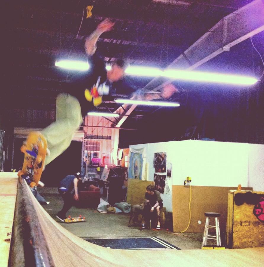 Lars Vegan skateboarder, Vegetable Shredder