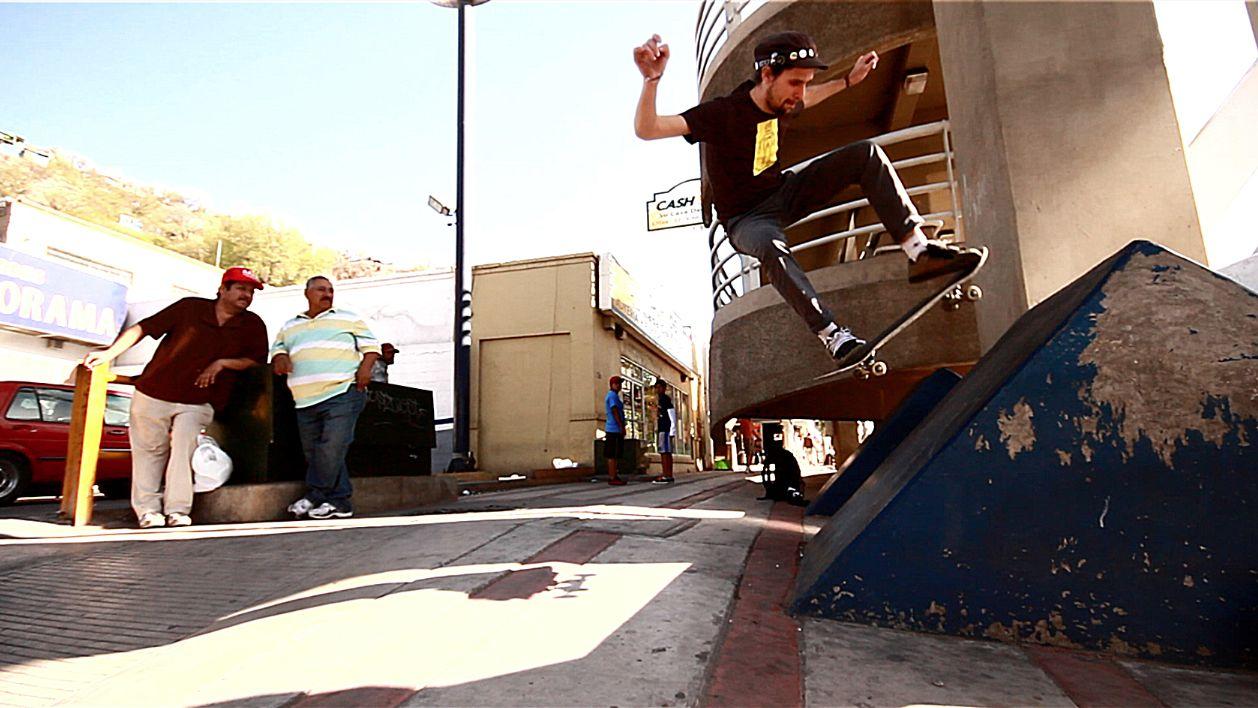 Sean Conley Fakie Ollie Vegan skateboarder
