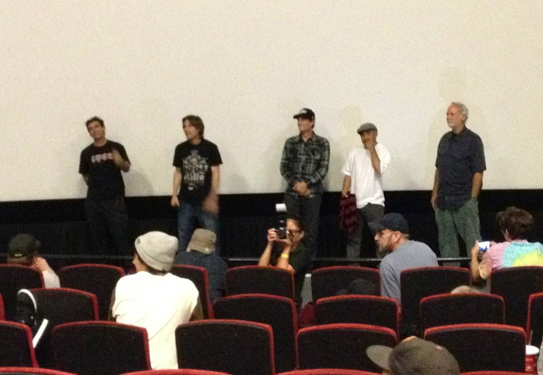Lance Mountatin, Rodney Mullen, Mike McGill, Steve Caballero, George Powell