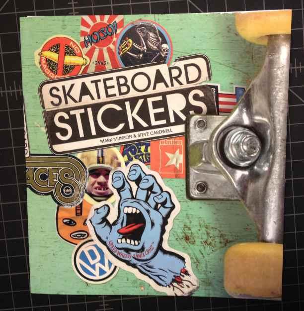 Skateboard Stickers Book