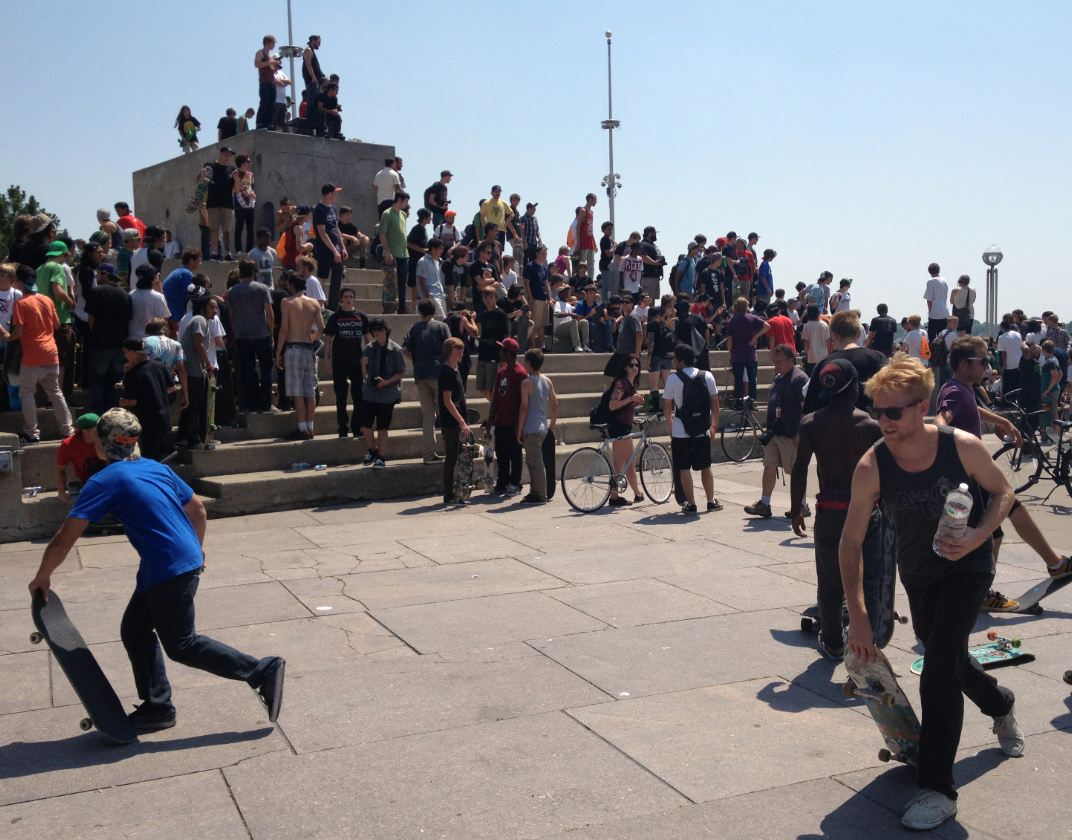 Emerica Wild In the Streets, Go Skateboarding Day 2012 photos