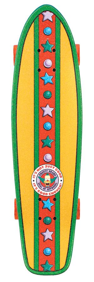 Santa Cruz Simpsons Skateboard Krusty Cruiser
