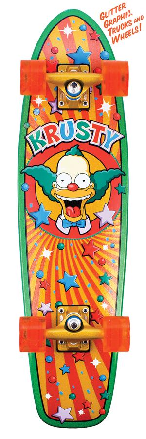 Simpsons Cruiser skateboard by Santa Cruz