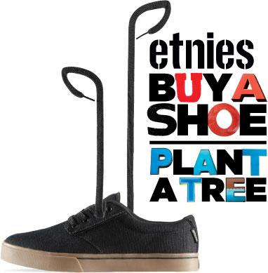 Buy a Shoe Plant a Tree