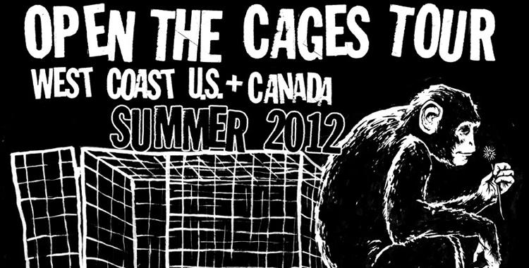 Matt Gauck Open The Cages Tour