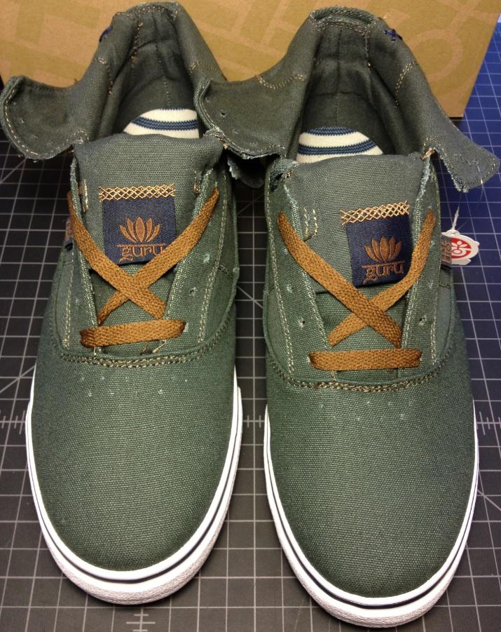 Guru Hi Vegan Skateboard shoe