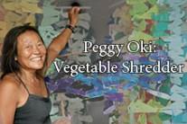 Peggy Oki Vegetable Shredder