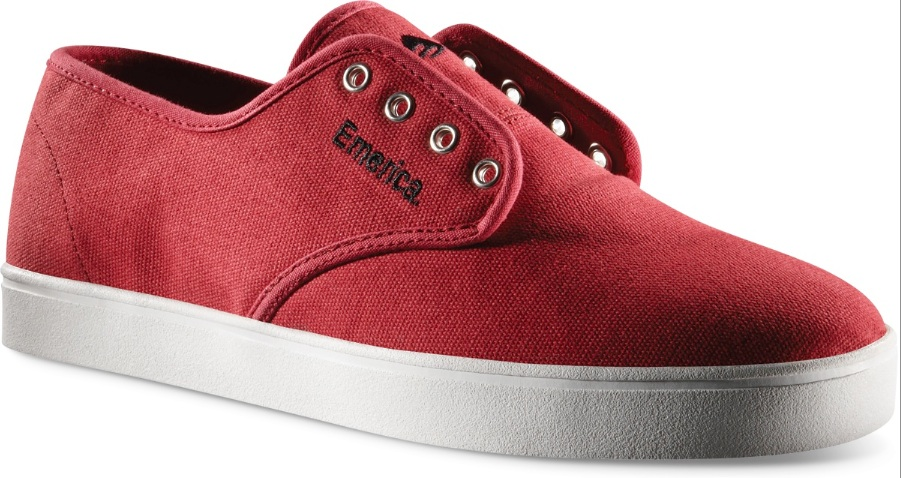 Emerica Laced Skateboard shoes Canvas Vegan