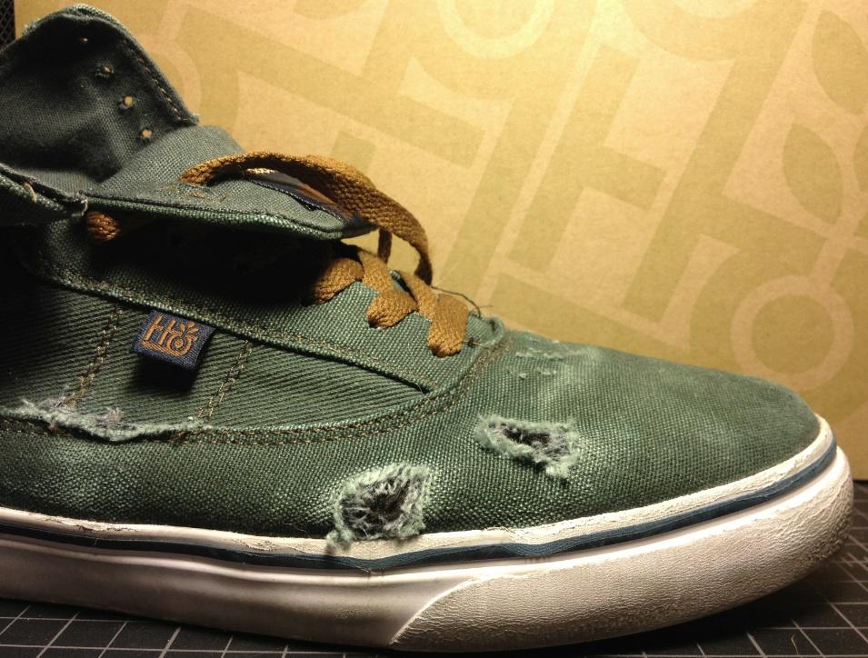 Habitat Vegan Skateboard shoe Guru Hi