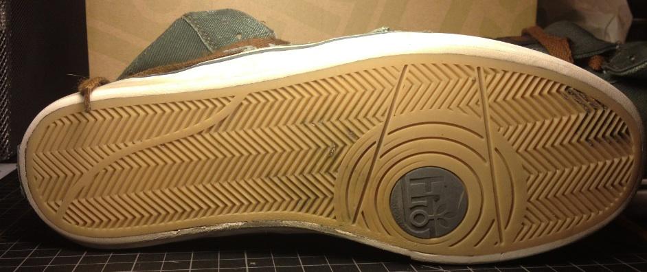 Guru Hi Vegan Canvas Skateboard shoe
