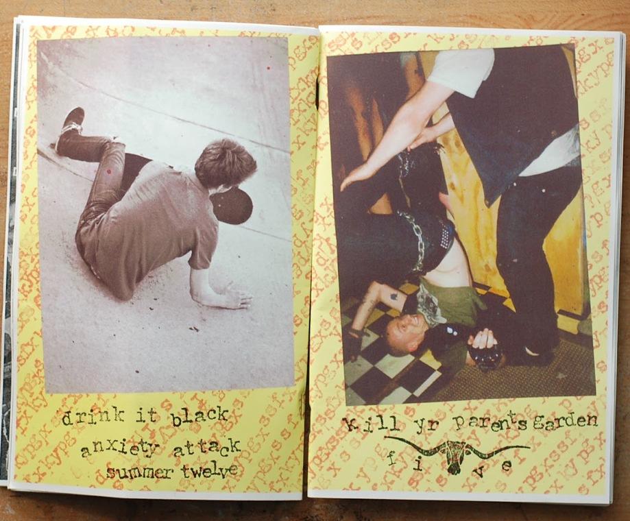 Kill Yr Parents Garden #5 Skateboard Punk Vegan Zine