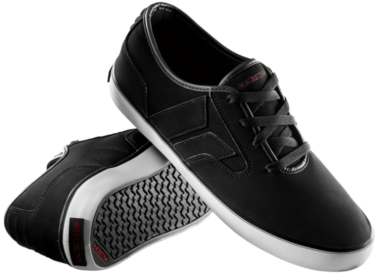 Vegan Skateboard shoes from Macbeth