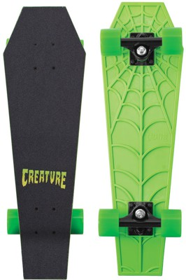 Creature Rip Rider cruiser skateboard re-issue with green wheels