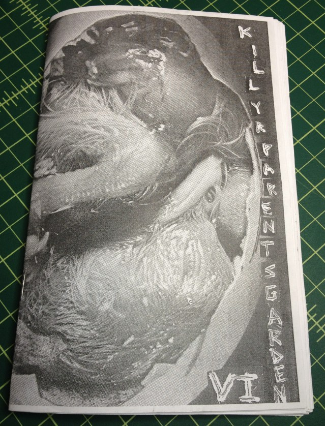 Kill Your Parents Garden Zine Issue 6, Ian Mackaye interview, Chicago show space directory