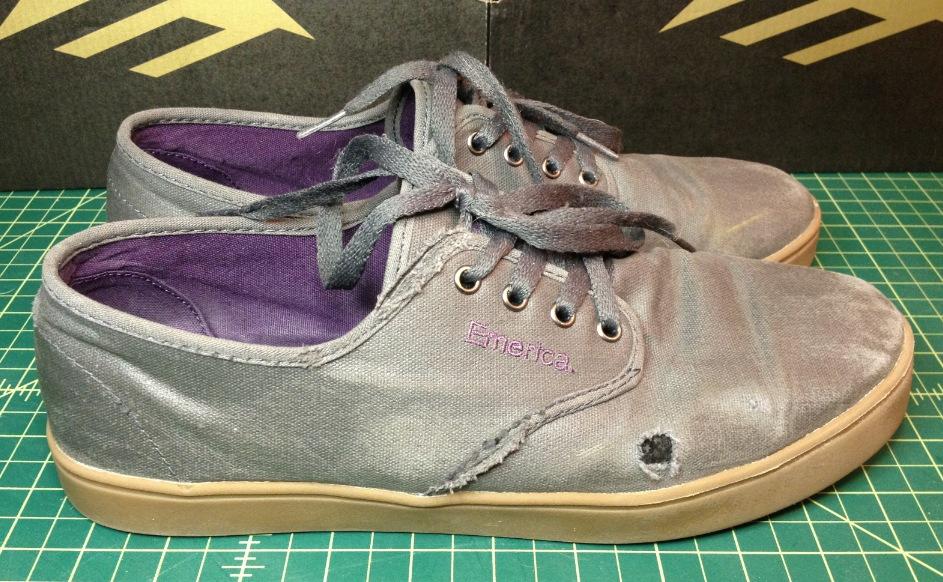 Emerica Laced Vegan Skateboard Shoes skateboard shoe review