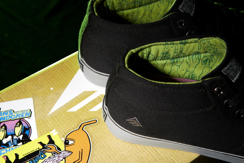 Ed Templeton Emerica Tempster Vegan Skateboard shoes