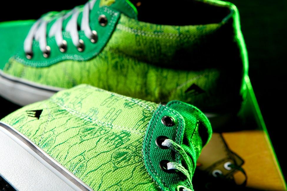 Emerica Tempster vegan skateboard shoe sneak peak