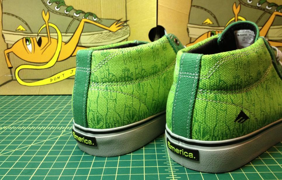 Emerica Tempster Ed Templeton Vegan Skateboard Shoe review