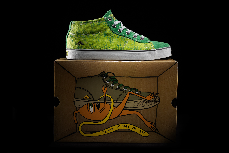 Ed Templeton Emerica Vegan Skateboard Shoes