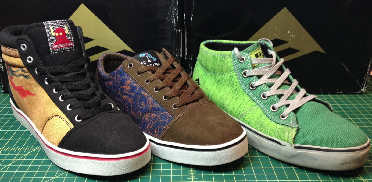 Emerica Vegan Skateboard Shoes The Tempster The Transist