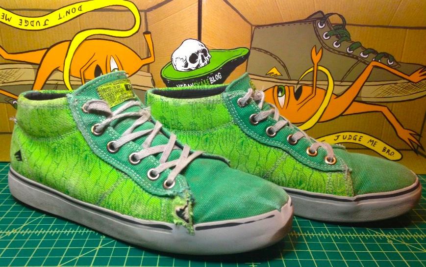 Emerica Tempster Ed Templeton Skate Board shoe reivew