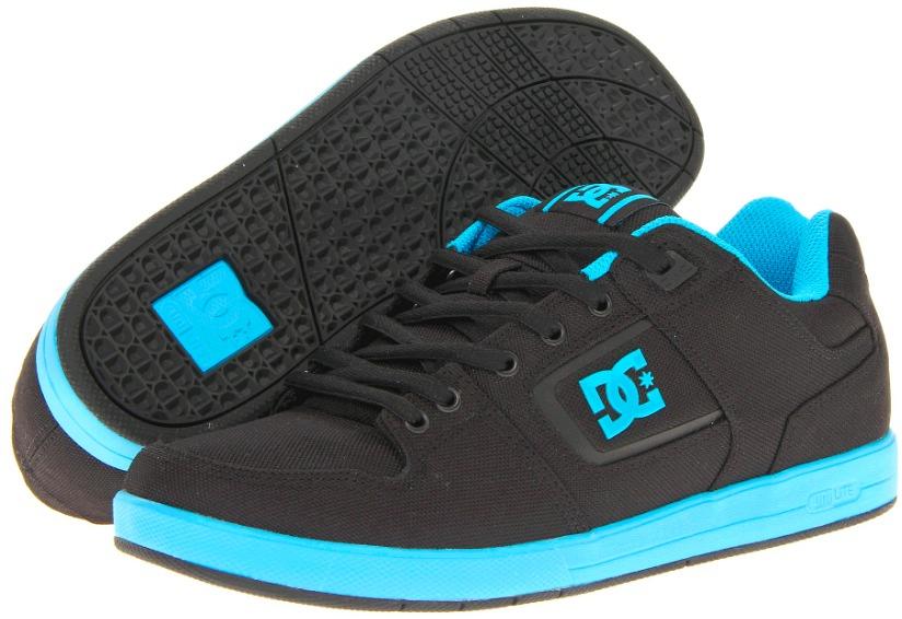 DC Factory Lite TX Vegan Skateboard shoes Textile Canvas