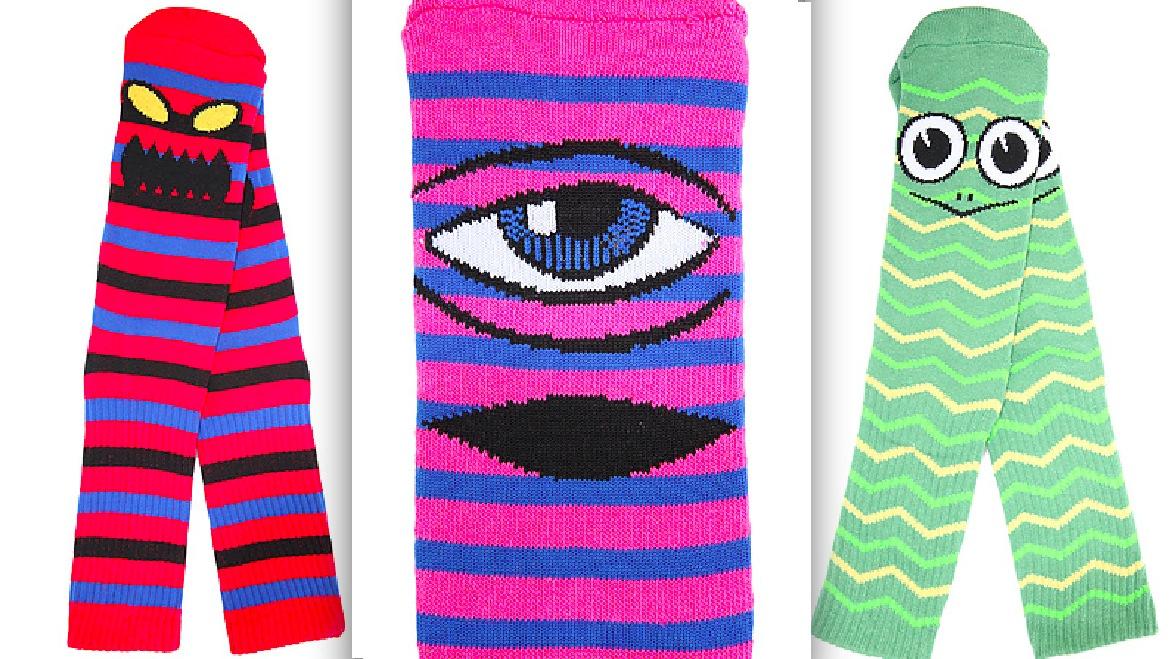 Toy Machine Striped Socks