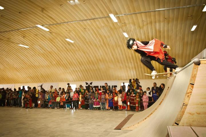 The young women of Skateistan at the Kabul Skate Park know how to rip!