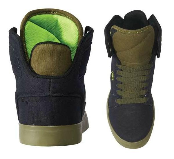 Osiris Vegan Skateboard shoes Effect vegan canvas skateboard hitops
