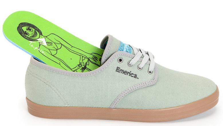 Emerica Vegan Skateboard shoes Tempster Wino