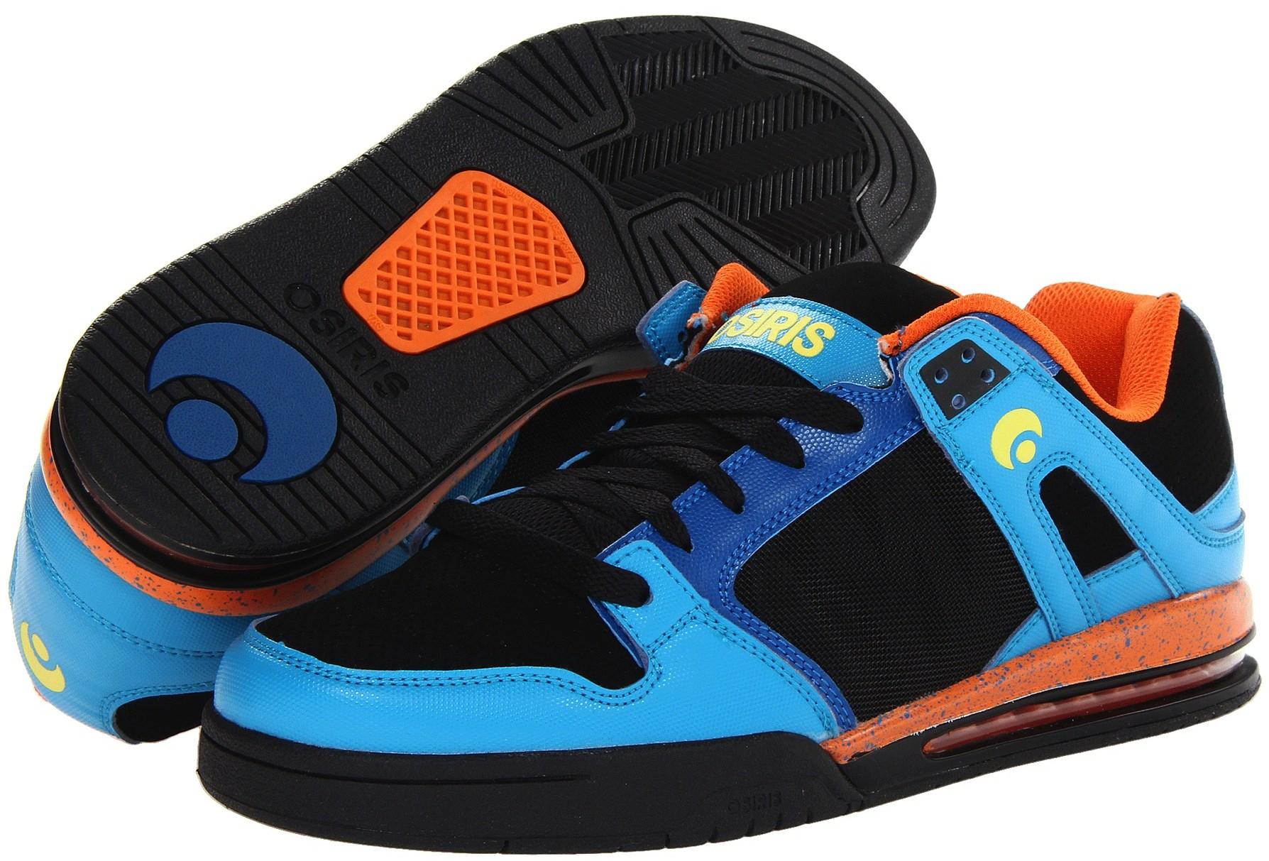 Osiris Pixel 90's skateboard shoes vegan synthetic-leather