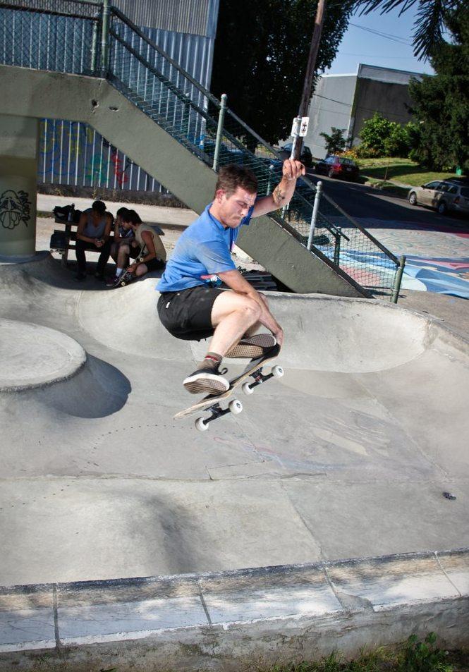 Chris Klich Vegan Pro Skateboarder