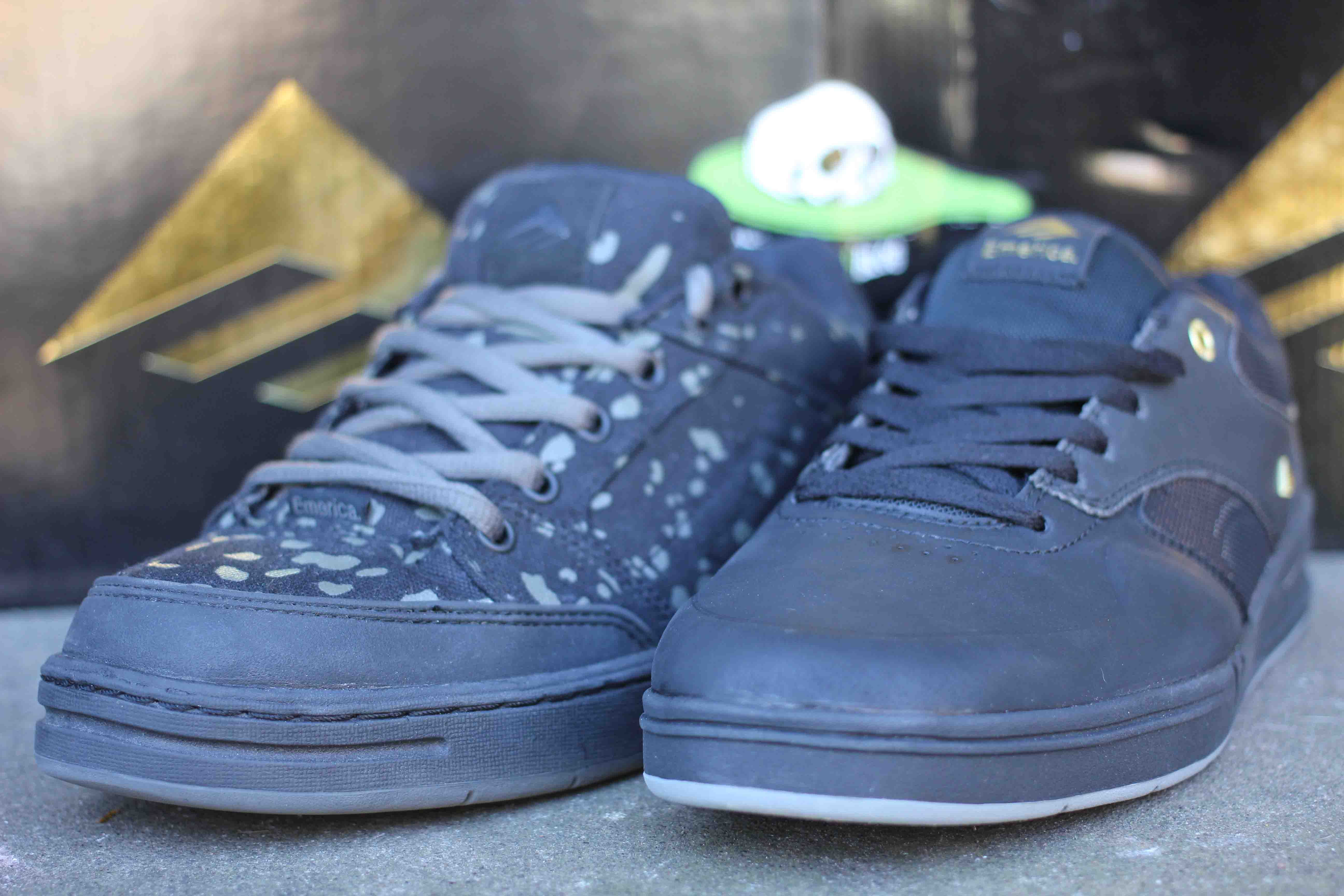 Emerica Heritic 3 and The Heritic X Ed Templeton Vegan Skateboard Shoes