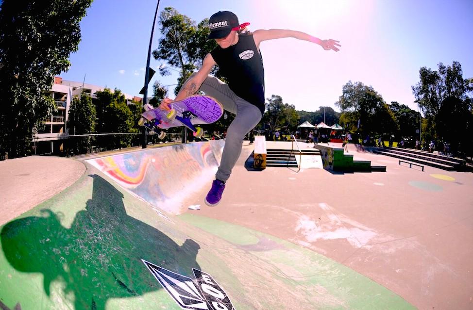 Jade Ryan Vegan Skateboarder Vegetable Shredder
