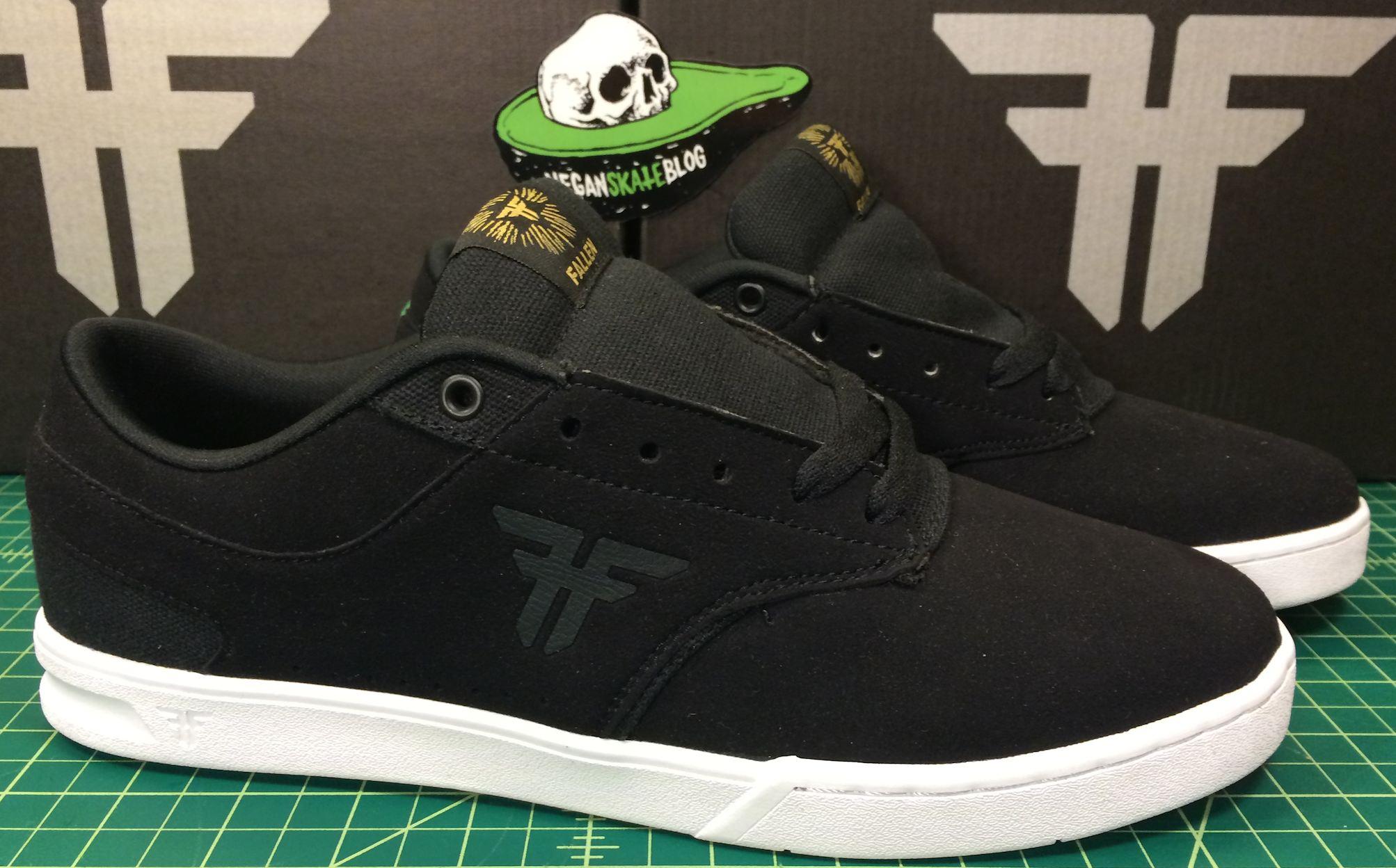 Fallen the vibe vegan skateboard shoe synthetic upper
