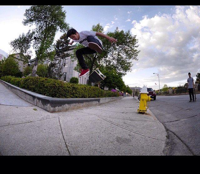Vegan Skateboarder Jimmy