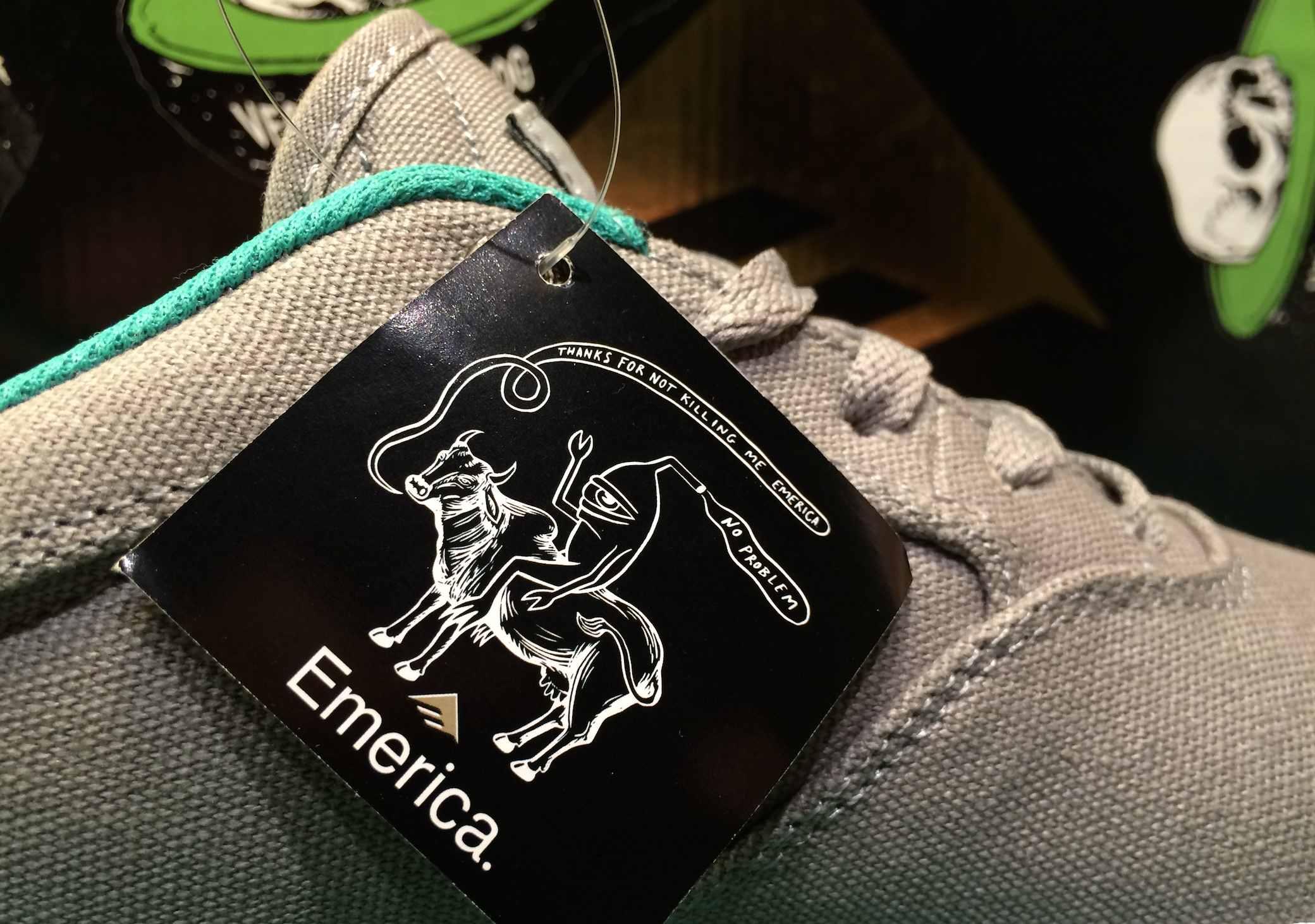 Emerica Herman G6 Vulc Vegan skateboarding shoes