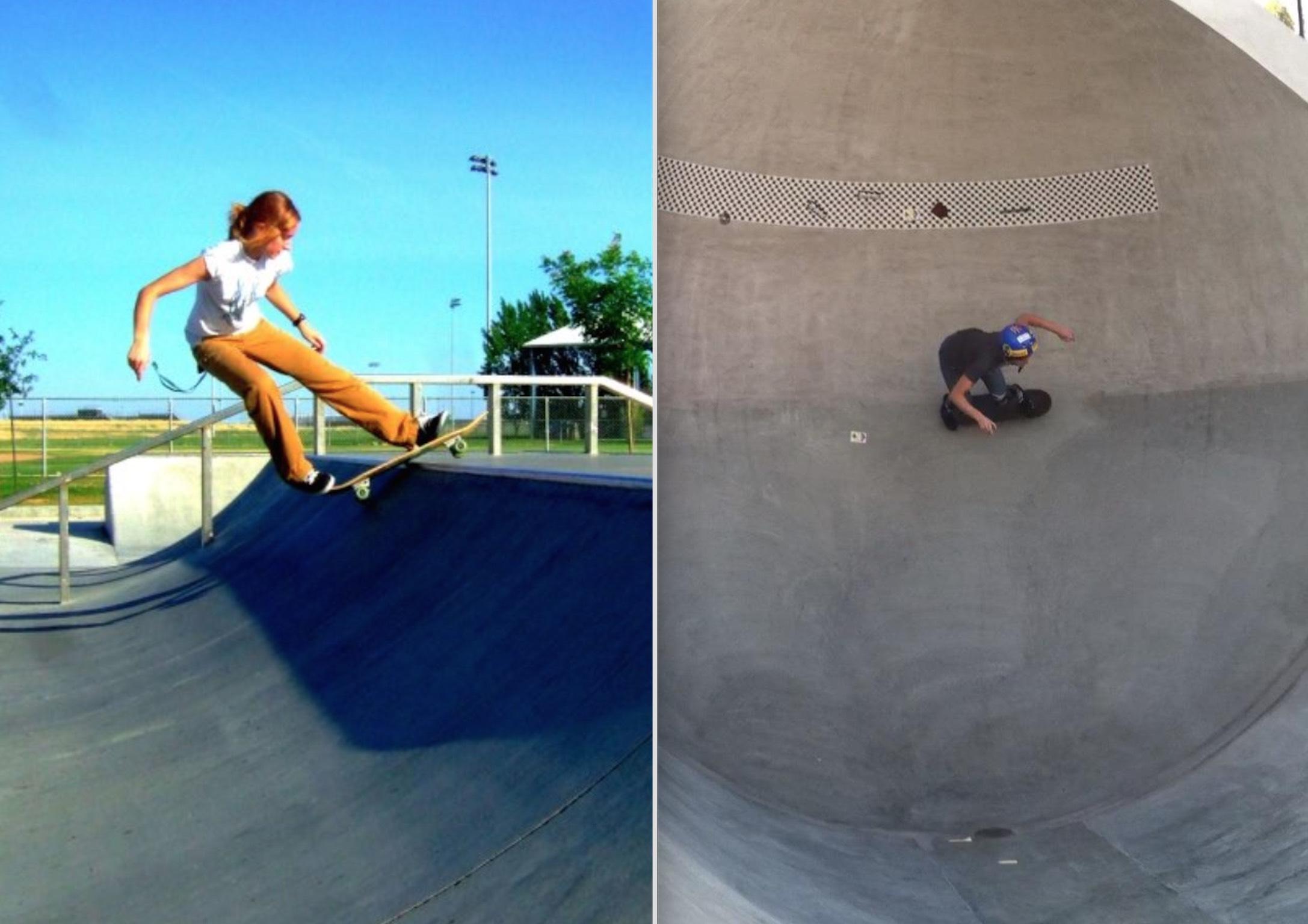 Vegan Skateboarder Erica Shultz
