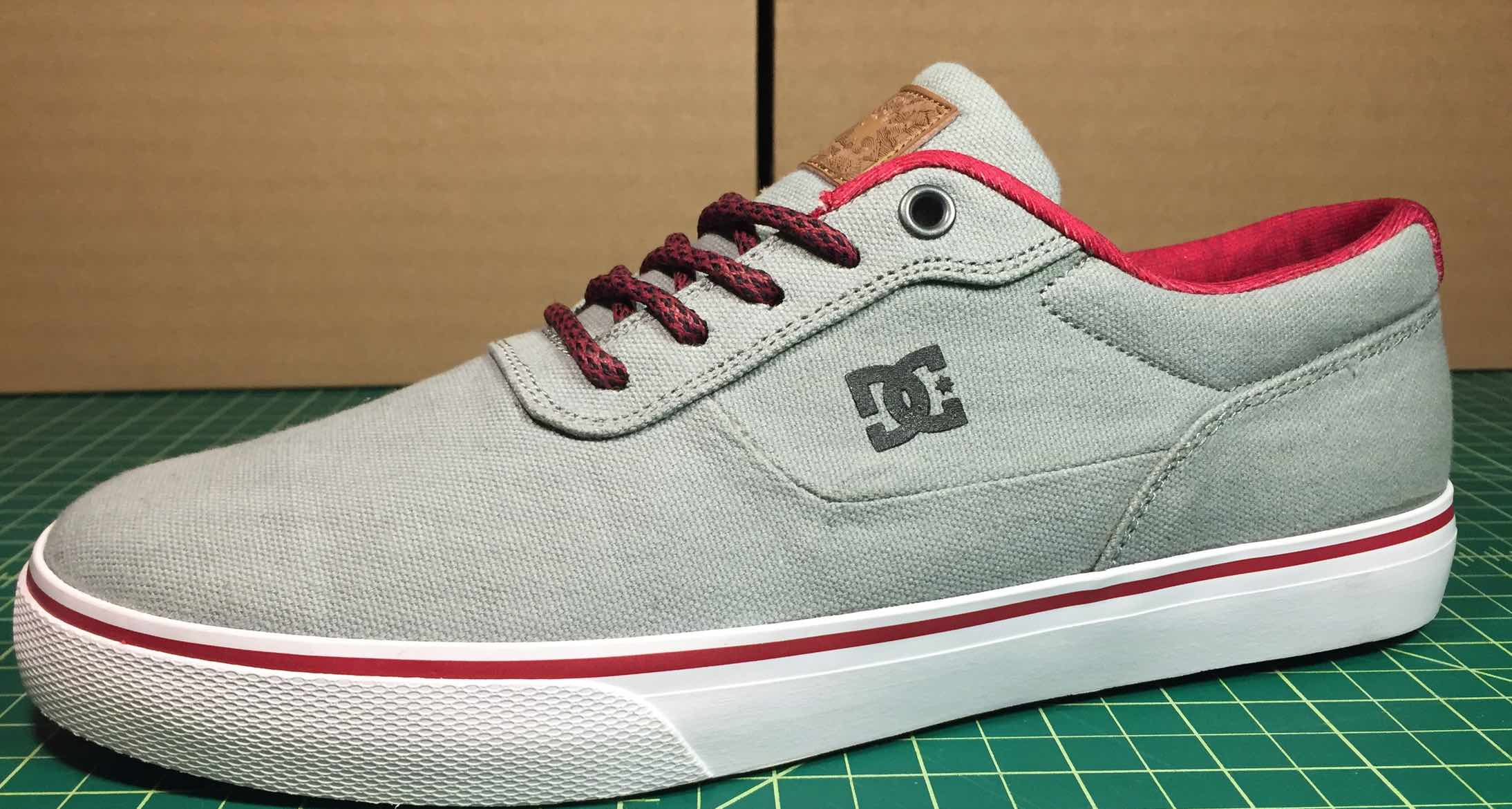DC vegan skateboard shoe Switch S TX